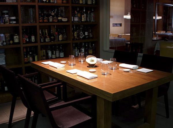 La mesa de la cocina - Restaurante Alejandro