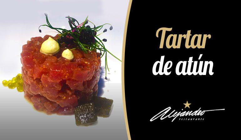 Restaurantes Almería Tartar de atún