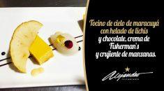 Postres restaurante Alejandro