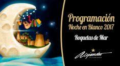 Programación Noche en Blanco Roquetas de Mar