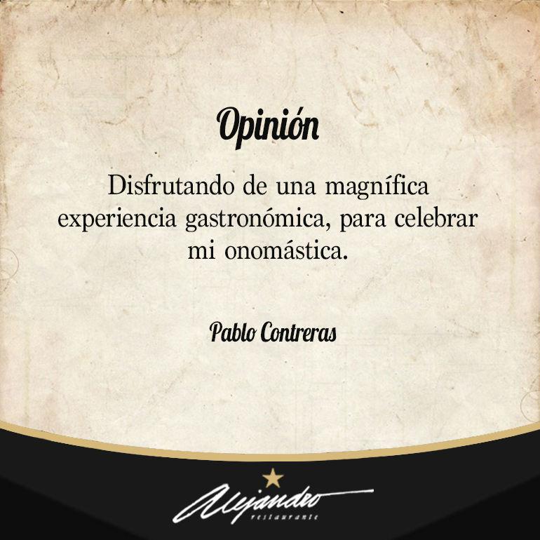 Opiniones Restaurante Alejandro Almería