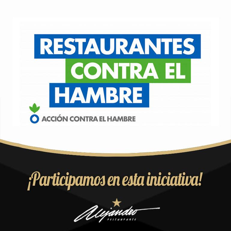 Restaurantes contra el hambre Almería