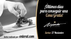 Cena gratis Restaurante Alejandro Almería