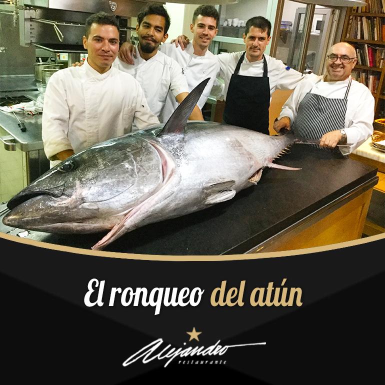 Ronqueo de atún