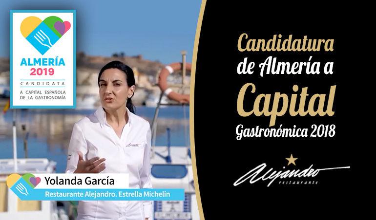 Candidatura Almería capital gastronómica 2019
