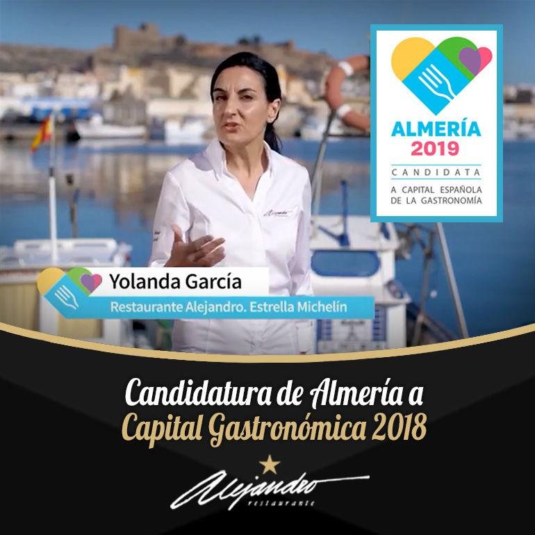 Candidatura de Almería capital gastronómica