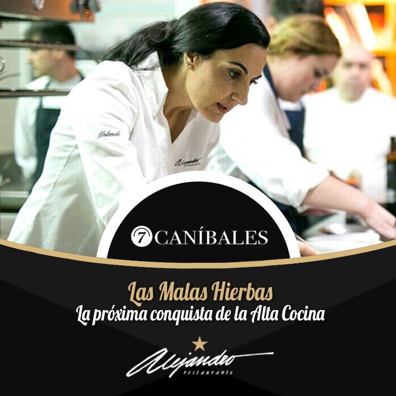 Yolanda García en 7 caníbales