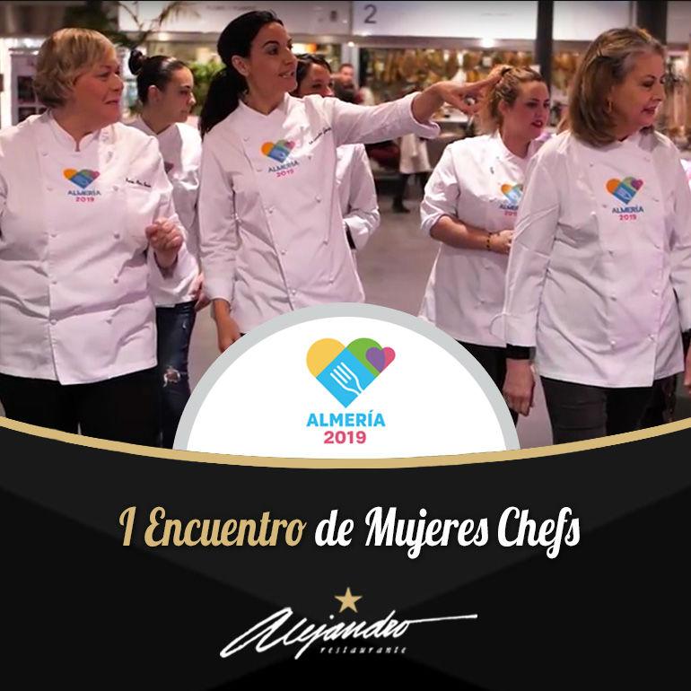 I Encuentro de mujeres Chefs en Almería