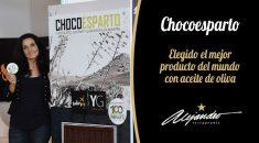 Chocoesparto mejor producto del mundo con aceite de oliva