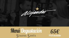 Menú Especial Semana Santa Restaurante Alejandro