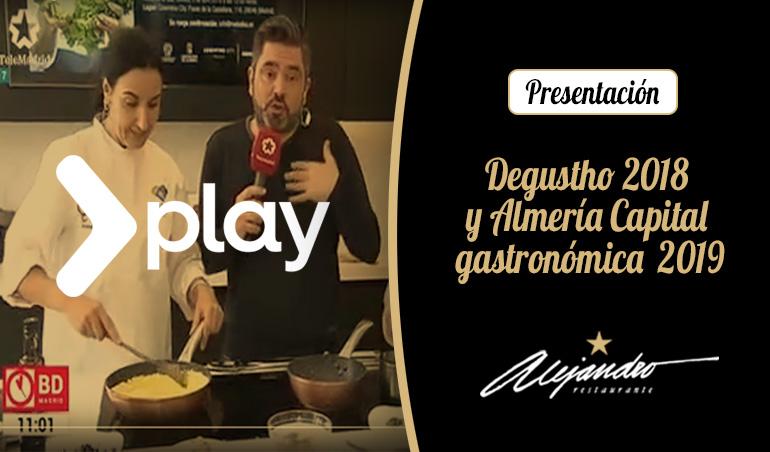 Presentación Degustho Almeria
