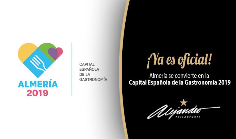 Almería Capital Gastronómica DESTACADA